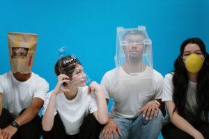 people-wearing-diy-masks